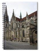Cathedral Regensburg Spiral Notebook