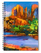 Cathedral Rock Afternoon Spiral Notebook