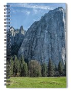 Cathedral Rock And Spires Spiral Notebook