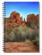 Cathedral Rock In Sedona Spiral Notebook