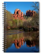Cathedral Rock Reflection In Oak Creek Spiral Notebook