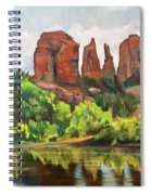 Cathedral Rocks In Crescent Moon Park Spiral Notebook