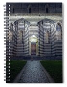 Cathedral Side Door Orvieto Italy Spiral Notebook