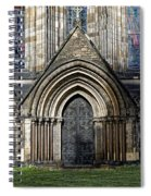Cathedral Side Door Spiral Notebook