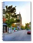 Cathedral Square Gallery On Dauphin Street Mobile Spiral Notebook