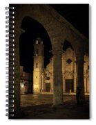 Cathedral Square Havana Cuba Spiral Notebook
