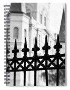Catheral Basilica - Bw Spiral Notebook