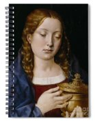 Catherine Of Aragon As The Magdalene Spiral Notebook