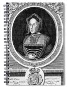 Catherine Of Aragon, First Wife Spiral Notebook