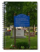 Catholic Cemetery Spiral Notebook