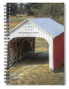 Catlin Covered Bridge  Spiral Notebook