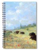 Catlin: Elk & Buffalo Spiral Notebook