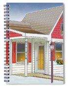 Catonsville Santa House Spiral Notebook