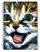 Cats Eyes 15 Spiral Notebook