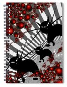Cats On The Quiet Spiral Notebook