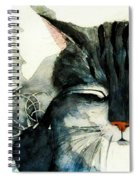 Cats Whiskers Spiral Notebook