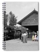 Catskill Railroad Spiral Notebook