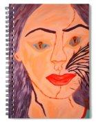 Catt Women Spiral Notebook