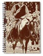 Cowboy Comtemplation Spiral Notebook