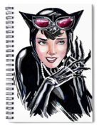 Catwoman- Markers Spiral Notebook