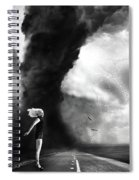 Caught In The Storm Spiral Notebook