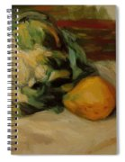 Cauliflower And Pomegranates Spiral Notebook