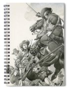 Cavalry Charge Spiral Notebook