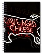Cave Aged Cheese Spiral Notebook