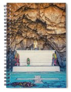 Cave Altar Setting Spiral Notebook
