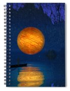 Cave Of Secrets Spiral Notebook