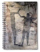 Cave Painting Of Prehistoric Man Spiral Notebook