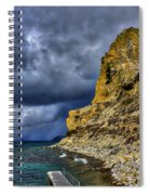 Cave Rock Color Spiral Notebook