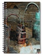 Caverness Moonshining Spiral Notebook