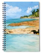 Cayman Shoreline Spiral Notebook