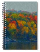 Cayuga Autumn Spiral Notebook