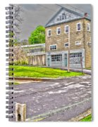 Cayuga Rail Crossing Spiral Notebook