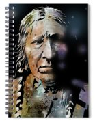 Cayuse Woman Spiral Notebook