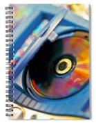Cd Player Spiral Notebook