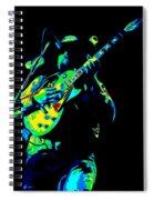 Cdb Winterland 12-13-75 #1 Enhanced In Cosmicolors Spiral Notebook