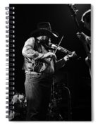 Cdb Winterland 12-13-75 #10 Crop 2 Spiral Notebook