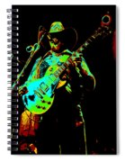 Cdb Winterland 12-13-75 #4 Enhanced In Cosmicolors Spiral Notebook
