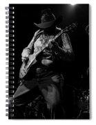 Cdb Winterland 12-13-75 #51 Enhanced Bw Spiral Notebook