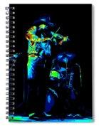 Cdb Winterland 12-13-75 #7 Enhanced In Cosmicolors Spiral Notebook