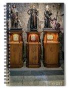 Cebu Statues Spiral Notebook