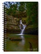 Cedar Falls 2 - Hocking Hills Ohio Waterfall Spiral Notebook