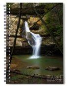 Cedar Falls - Hocking Hills Ohio Waterfall Spiral Notebook