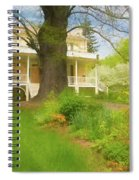 Cedar Grove In Spring Spiral Notebook