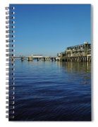 Cedar Key Pier Spiral Notebook