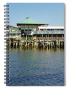 Cedar Key Waterfront Spiral Notebook