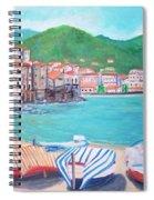 Cefalu In Sicily Spiral Notebook